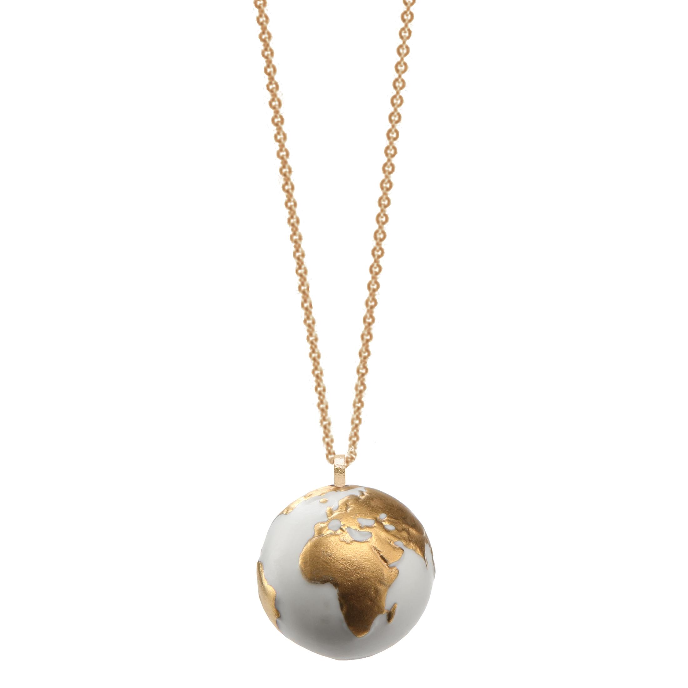 Goebel Kaiser Porzellan Globe 'KP P KE Globe Gold' 2021 !