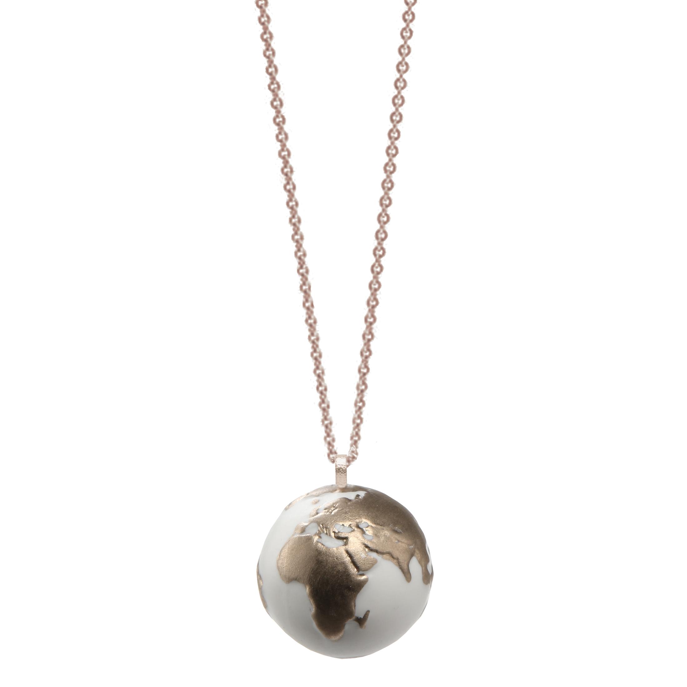 Goebel Kaiser Porzellan Globe 'KP P KE Globe Platin' 2021 !