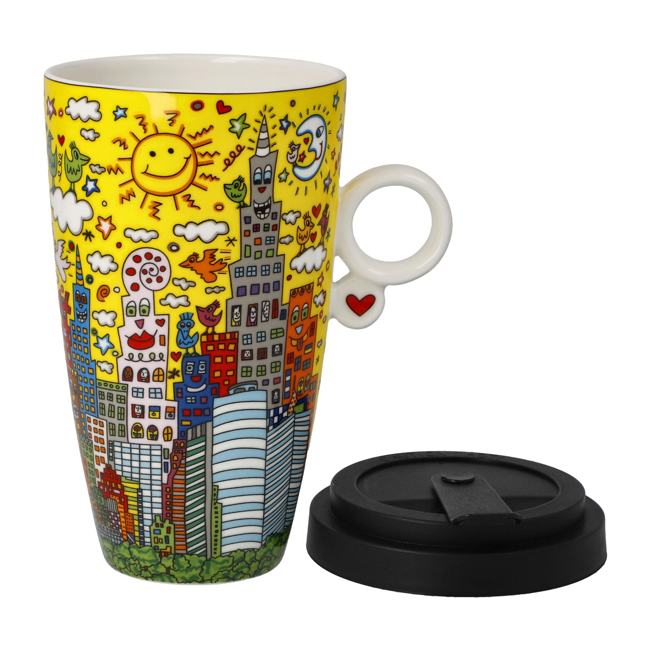 Goebel Pop Art James Rizzi 'JR FB MTG My New York City Sunset' 2021 !