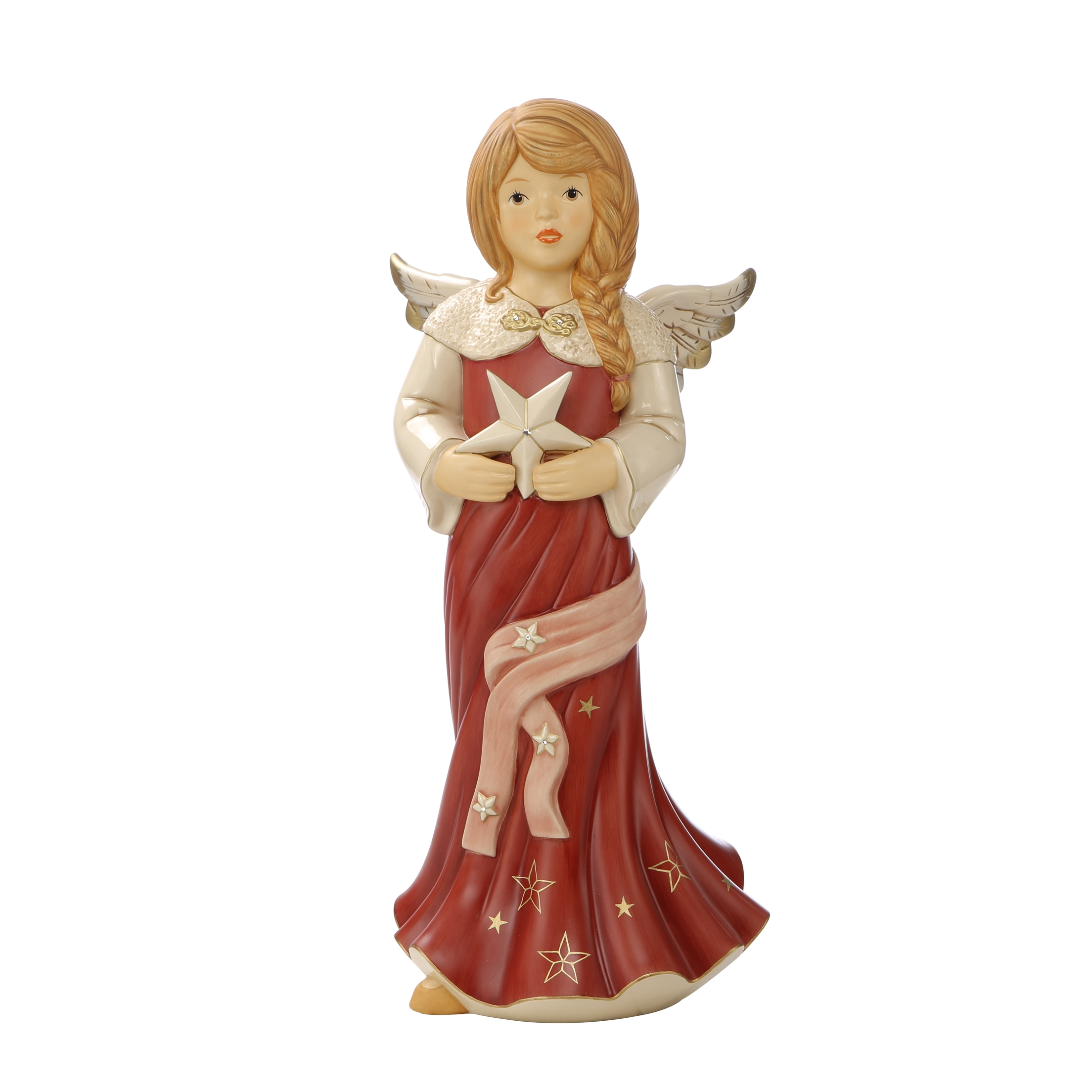 Goebel Weihnachten Himmelsboten 'XM S Funkelnder Sternenregen Ltd Ed bord' 2021 !
