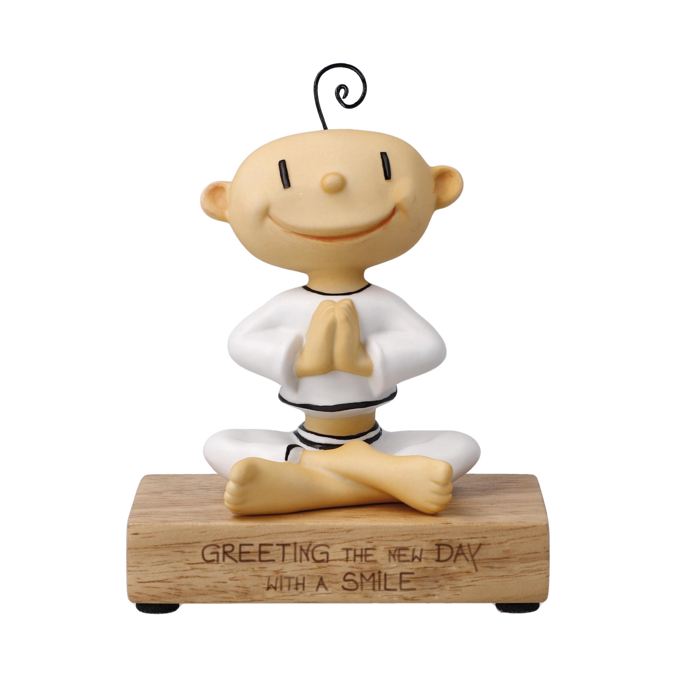 Goebel Der kleine Yogi® Wohnaccessoires 'KY P Greeting the new day 13' 2021 !