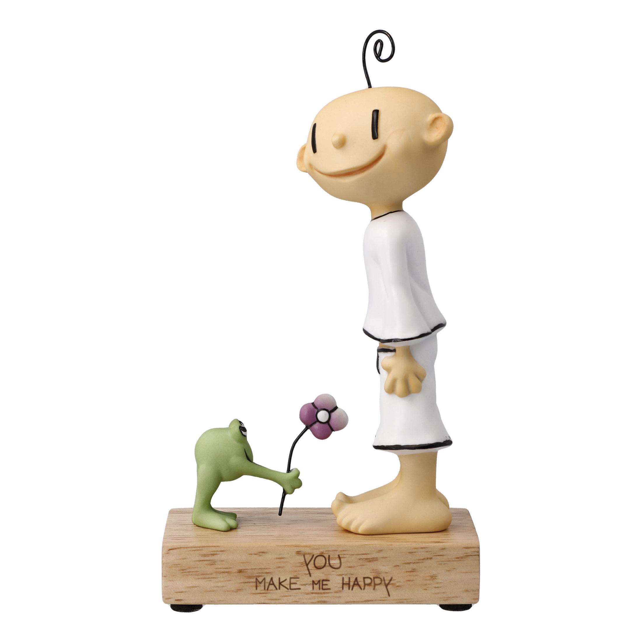 Goebel Der kleine Yogi® Wohnaccessoires 'KY P You make me happy 18,5' 2021 !