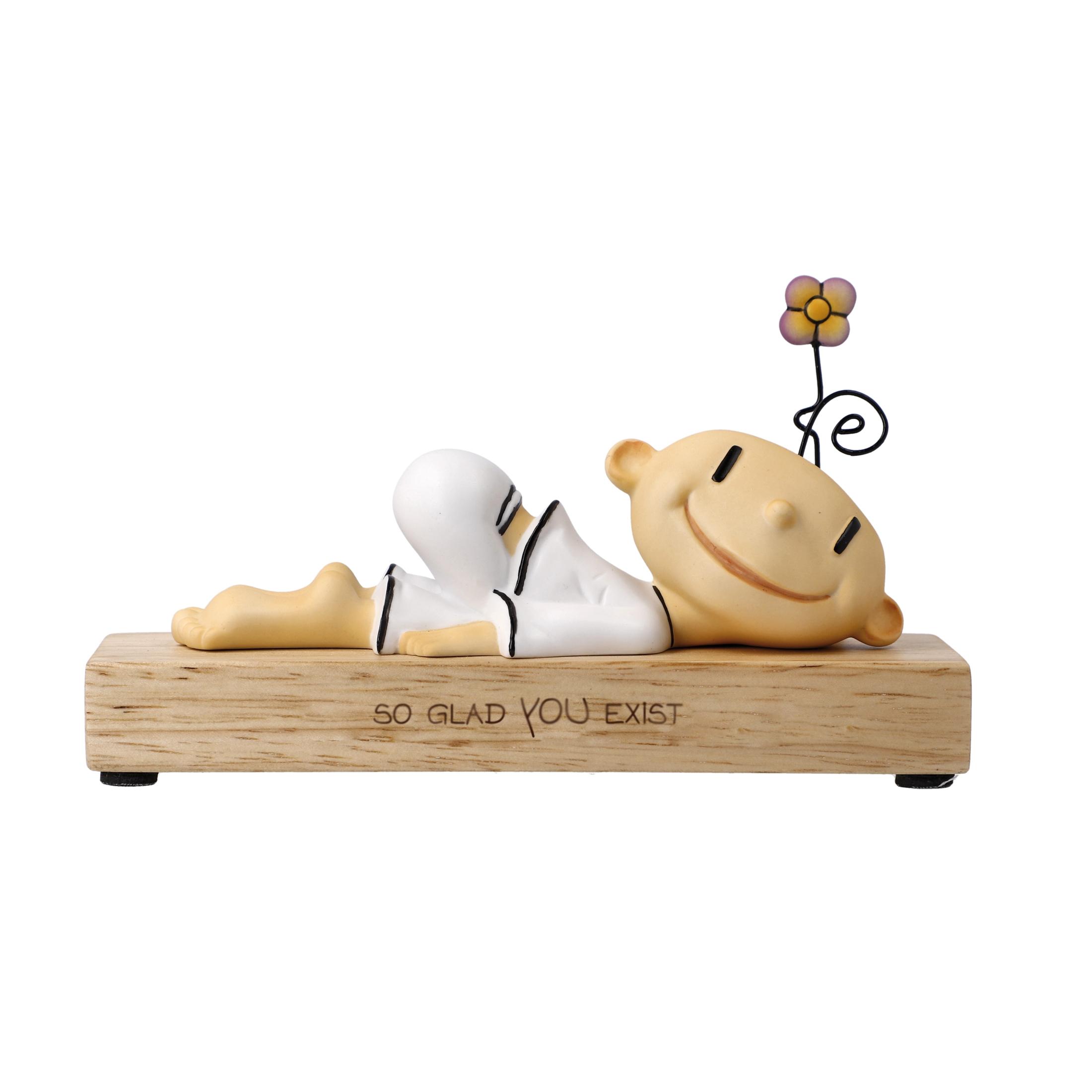 Goebel Der kleine Yogi® Wohnaccessoires 'KY P So glad you exist 8,5' 2021 !