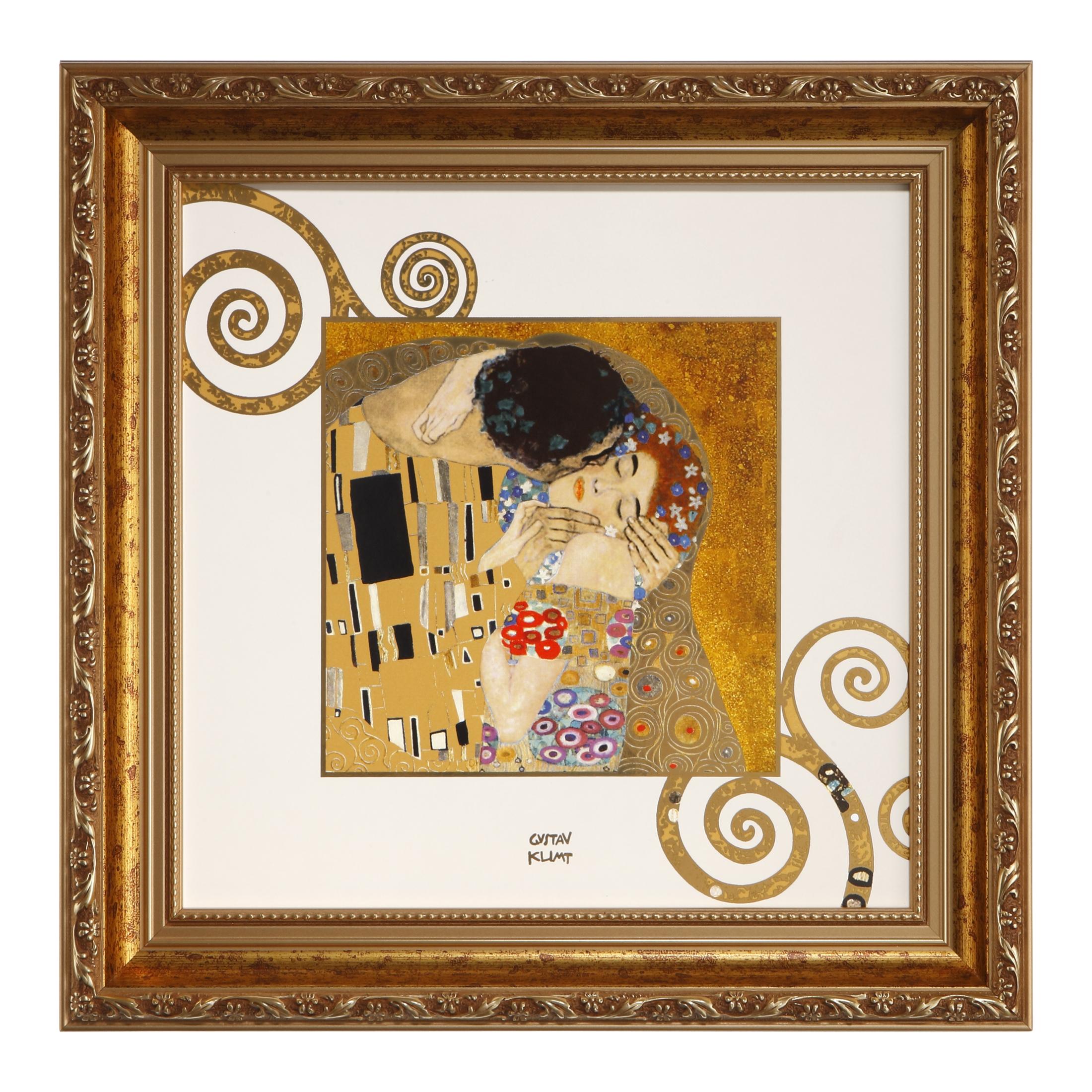 Goebel Artis Orbis Gustav Klimt 'AO P BI Der Kuss' 2021