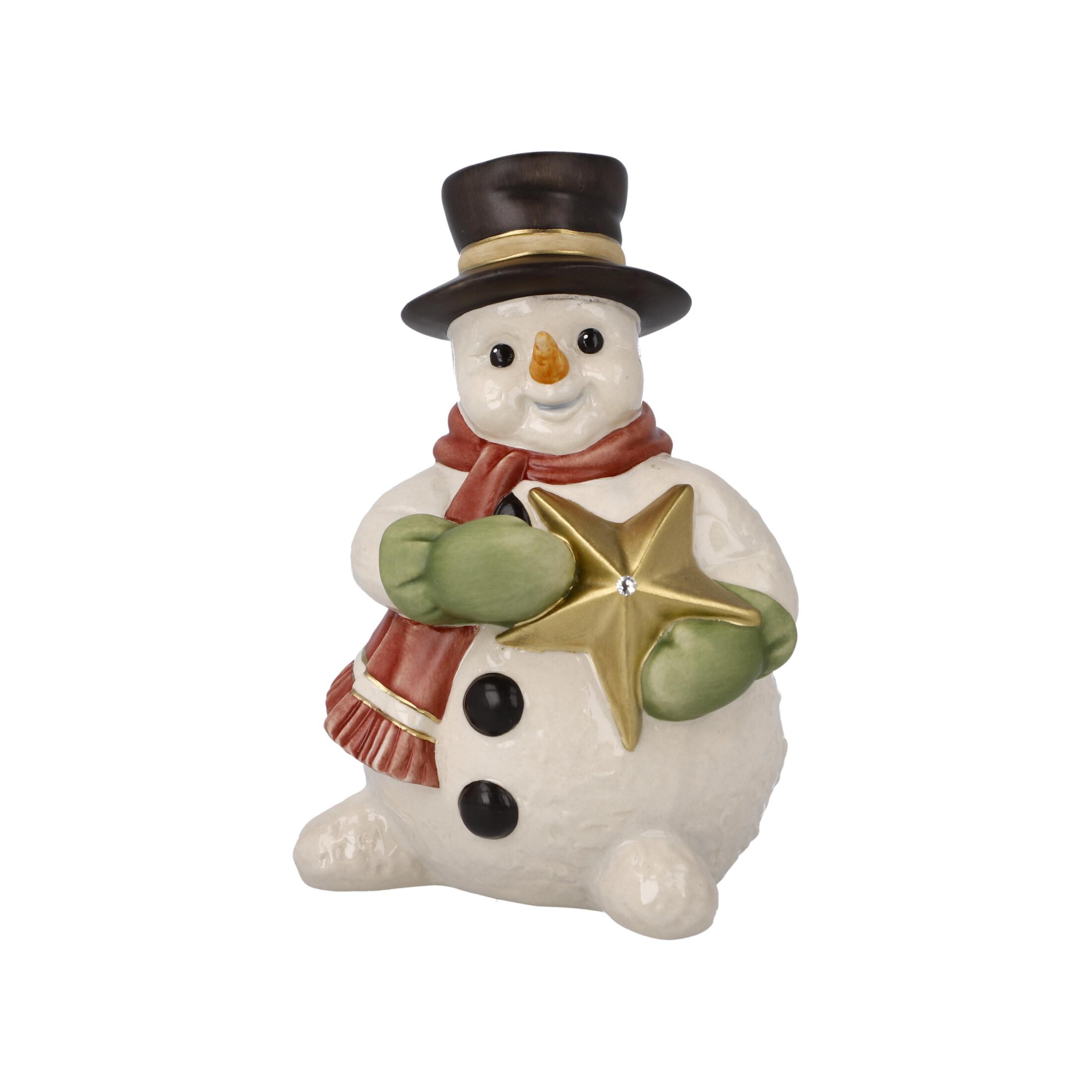 Goebel Weihnachten Schneemänner 'XM S Funkelnde Winternacht' 2021 !
