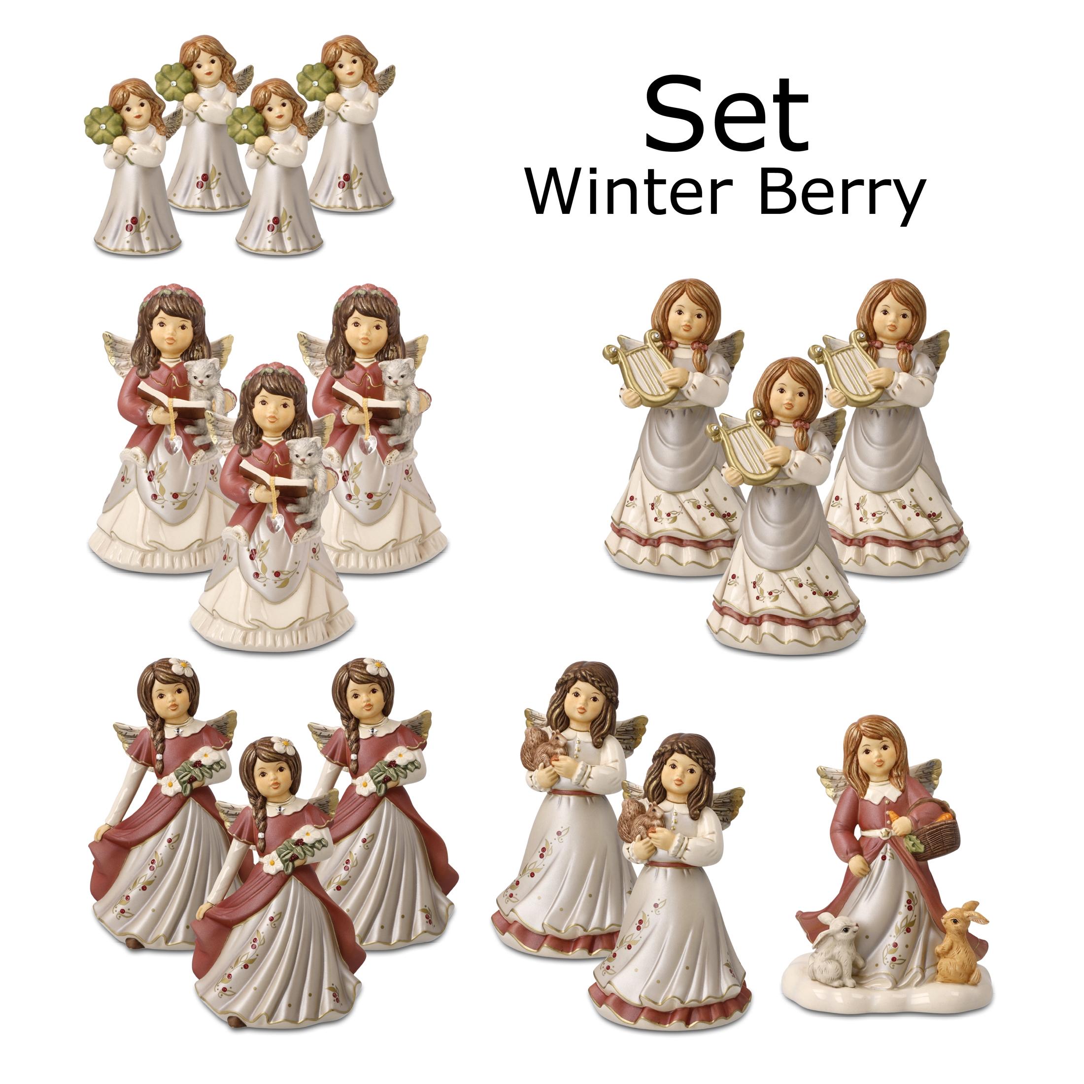 Goebel Weihnachten Winter Berry 'XM S Set JF Winter Berry 2021 16 tlg' 2021 !
