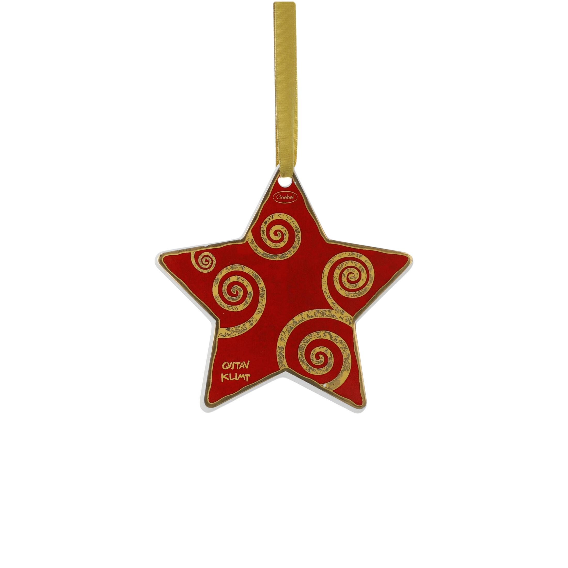 Goebel Artis Orbis Gustav Klimt Christmas Time 'Der Lebensbaum Weiß-Rot - Hängeornament' 2021 !