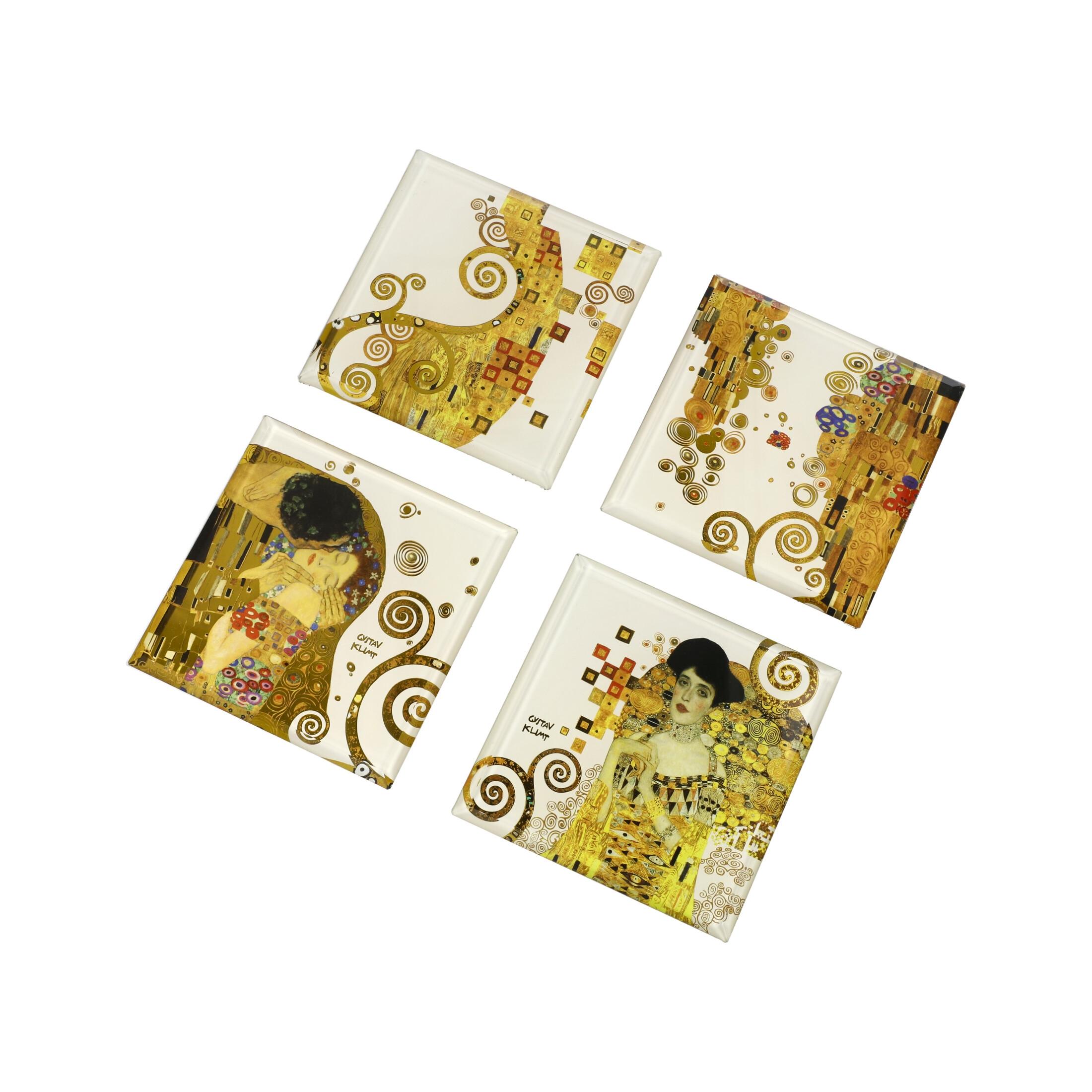 Goebel Artis Orbis Gustav Klimt 'AO GK US Set Kuss, Adele 10x10' 2021