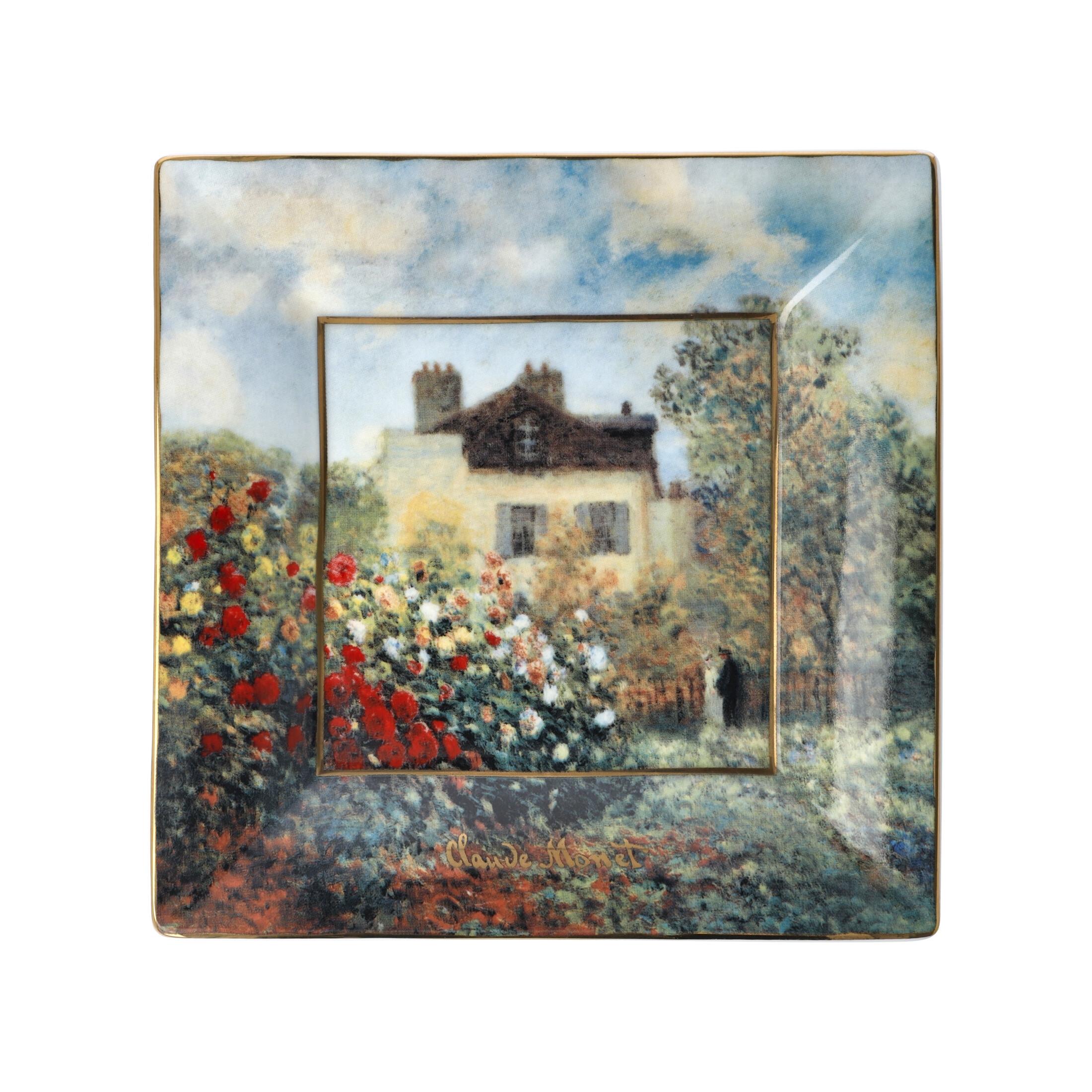 Goebel Artis Orbis Claude Monet 'AO FB SC Künstlerhaus 16x16' 2021 !