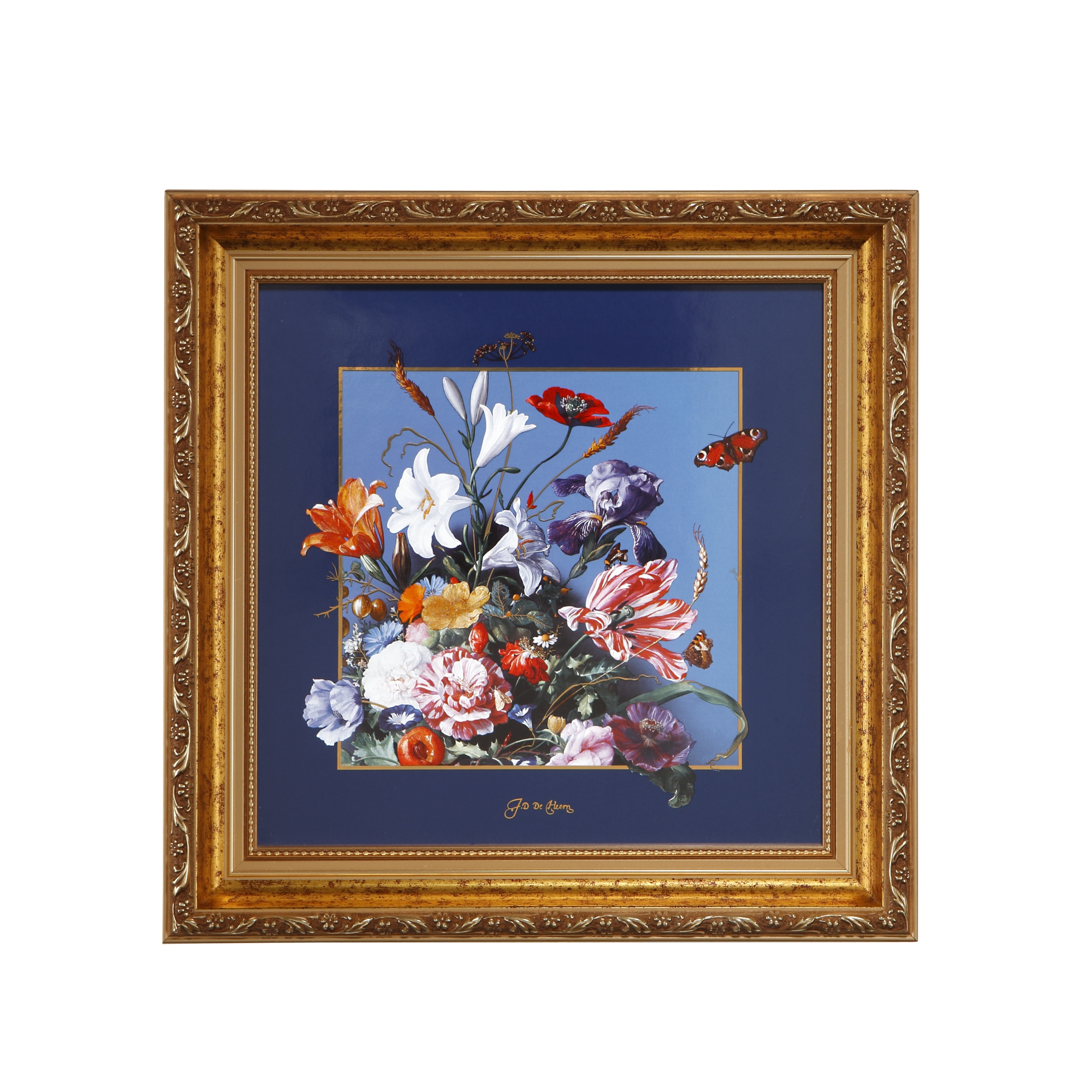 Goebel Artis Orbis Jan Davidsz de Heem 'AO P BI Sommerblumen 31,5x31,5' 2021 !